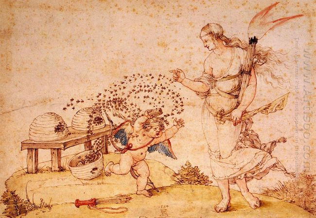 cupid the honey thief 1514