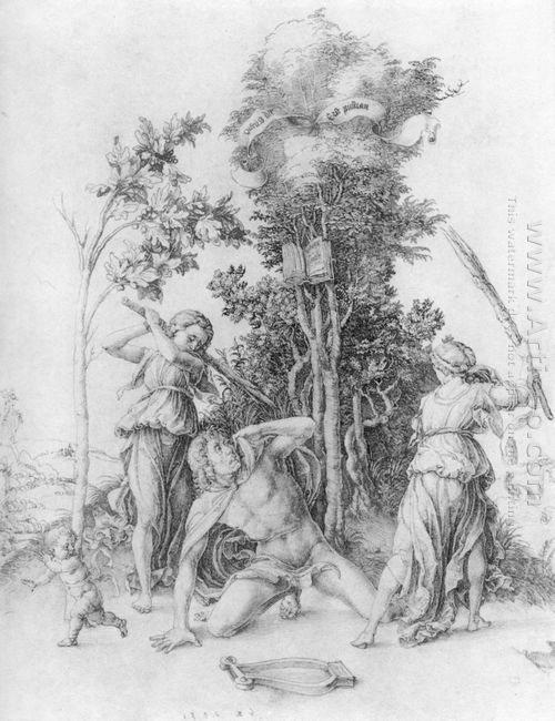 death of orpheus 1498