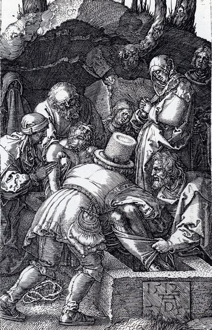 deposition engraved passion 1512