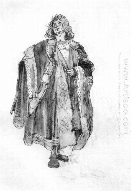 design to a court dress