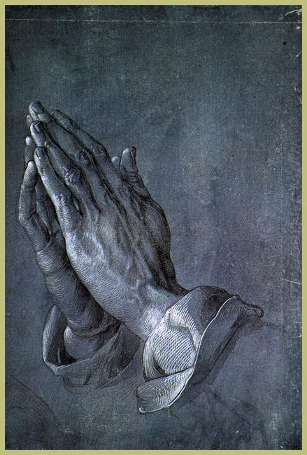 hands of an apostle