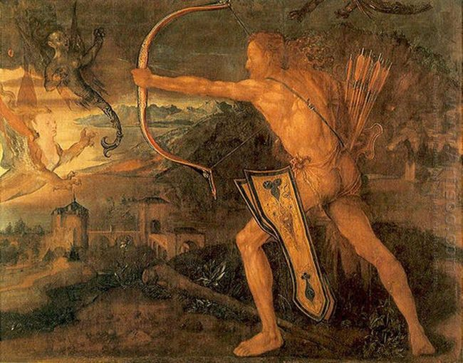 hercules kills the symphalic bird 1520