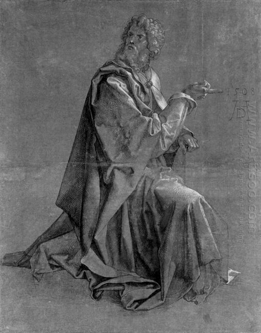 kneeling apostle