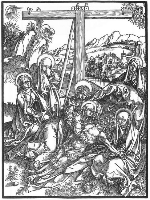 lamentation for the dead christ 1498