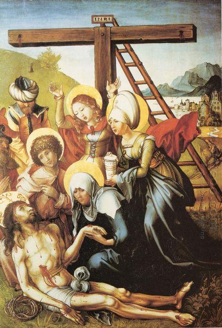 lamentation of christ 1497