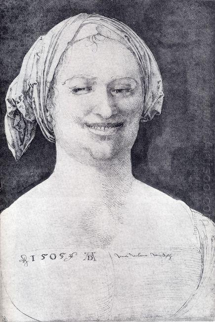 laughing peasant woman 1505