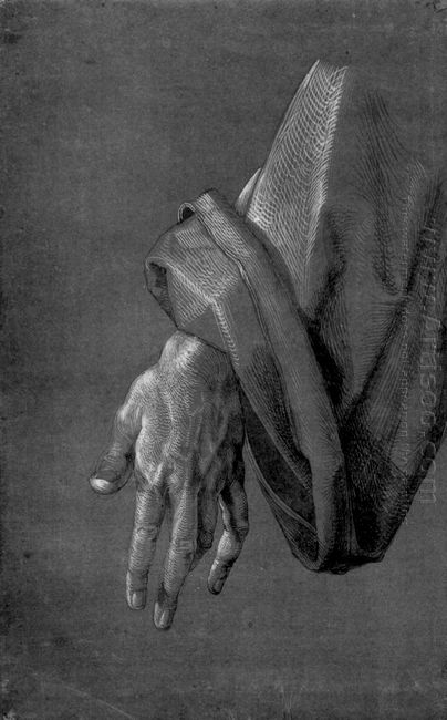 left hand of an apostle