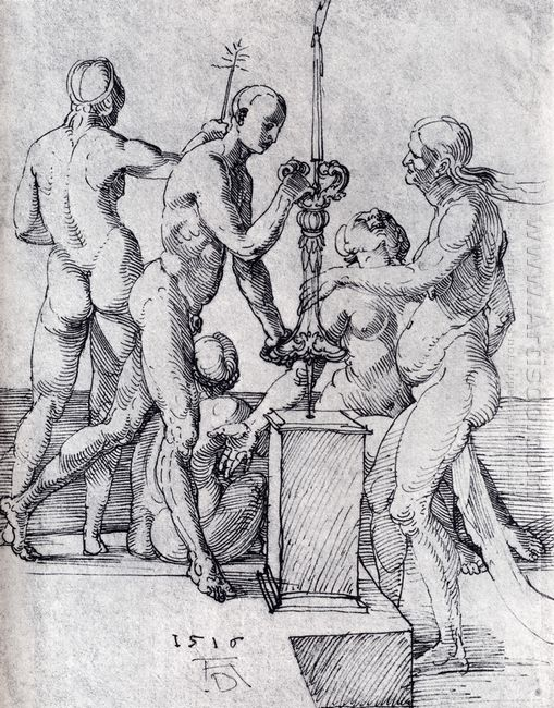 male and female nudes 1516