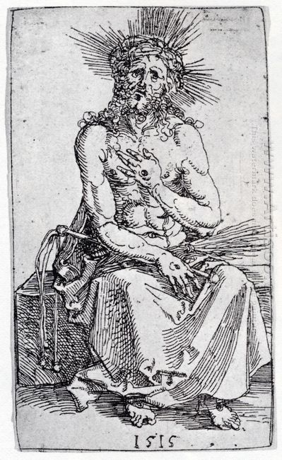 man of sorrows seated 1515