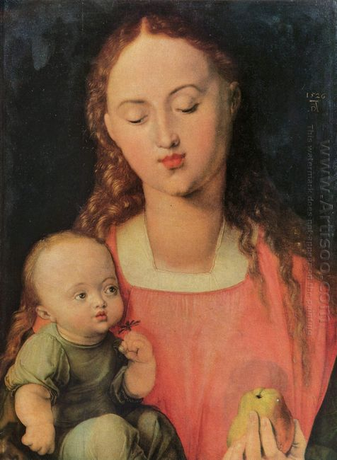 maria with child 1526
