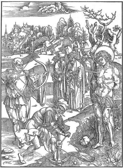 martyrdom of st sebastian