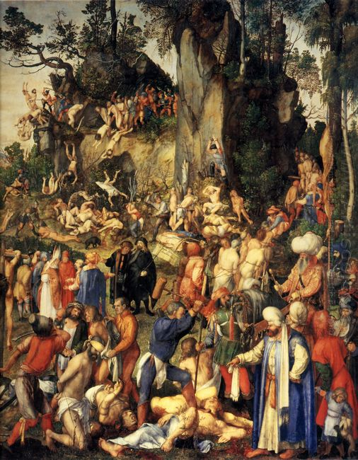 martyrdom of the ten thousand 1508