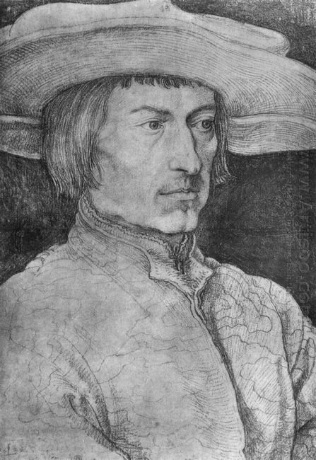 portrait of a man 1521