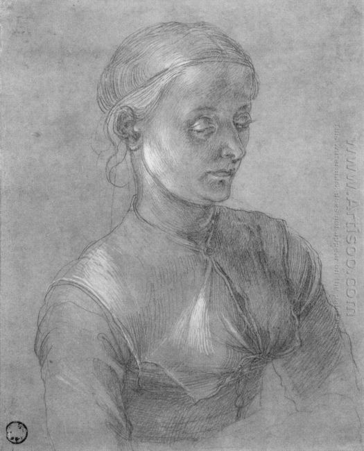 portrait of a woman agnes d