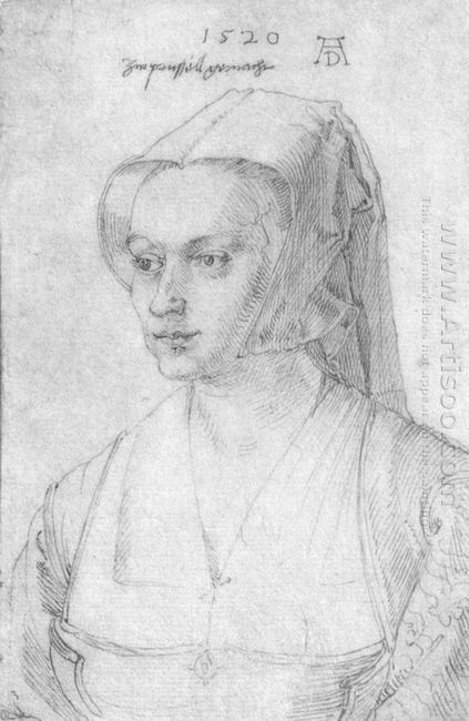 portrait of a woman from brussels