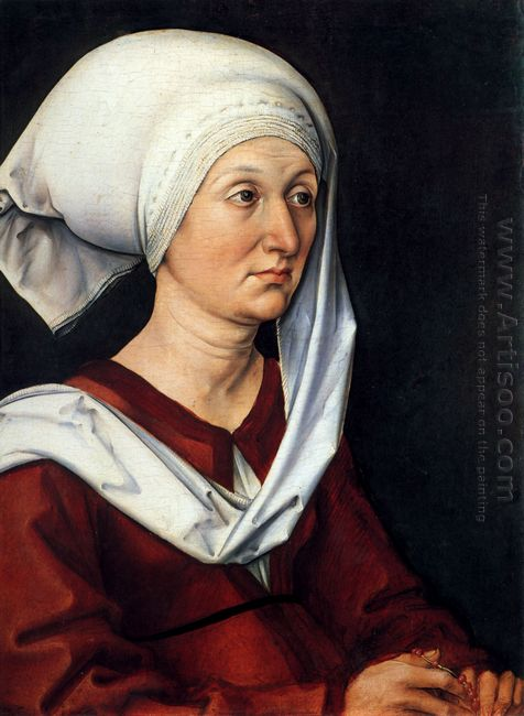 portrait of barbara 1490