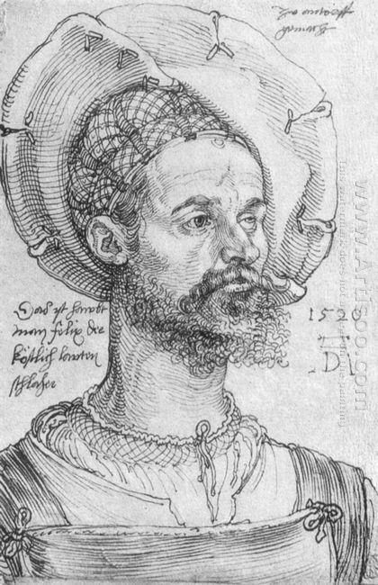 portrait of captain felix hungersperg