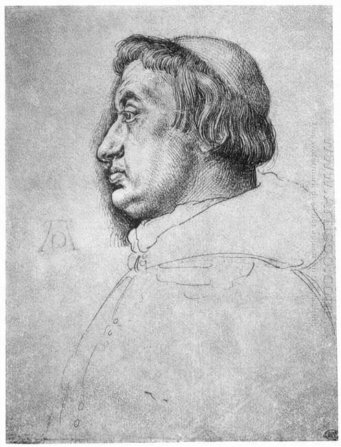 portrait of cardinal albrecht of brandenburg 1