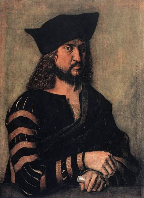 portrait of elector frederick the wise of saxony 1496
