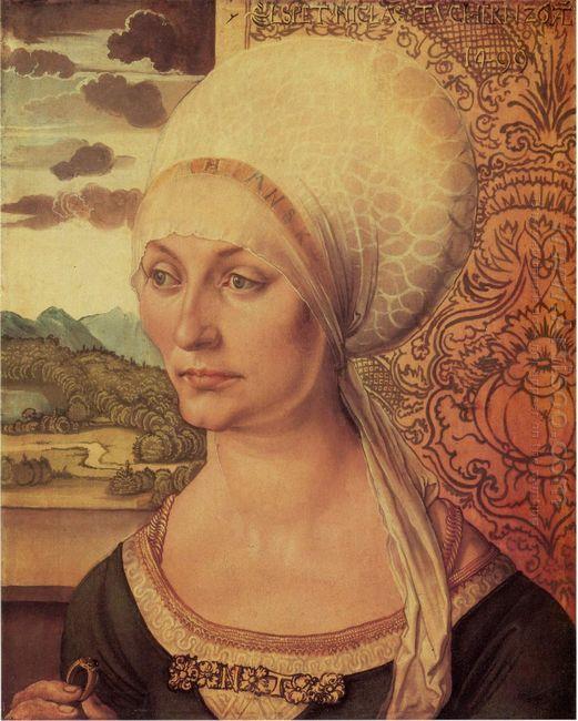 portrait of elsbeth tucher 1499