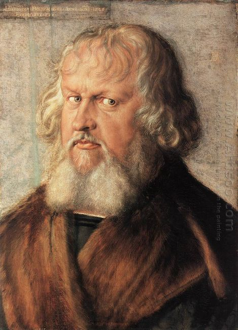 portrait of hieronymus holzschuher 1526
