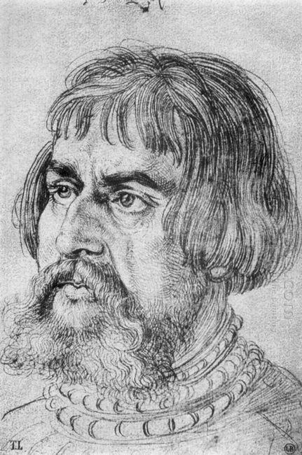 portrait of lucas cranach the elder