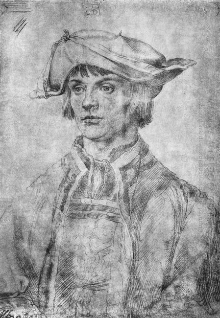 portrait of lukas van leyden