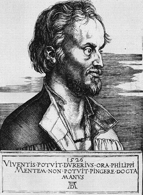 portrait of philipp melanchthon 1526