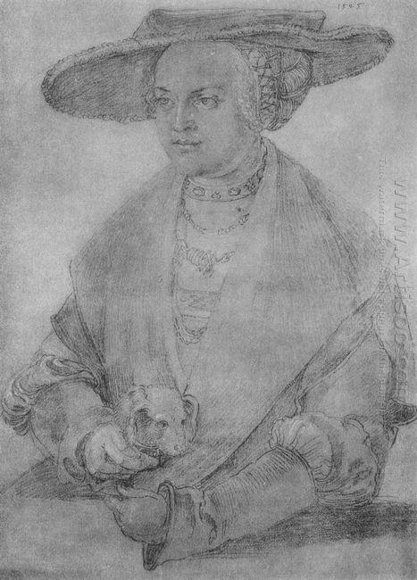 portrait of susanne von brandenburg ansbach