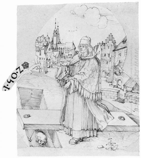 sixtus tucher in open grave