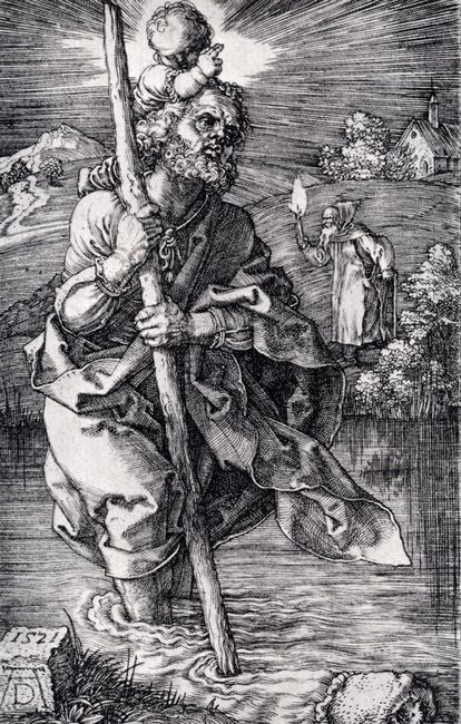st christopher facing right 1521