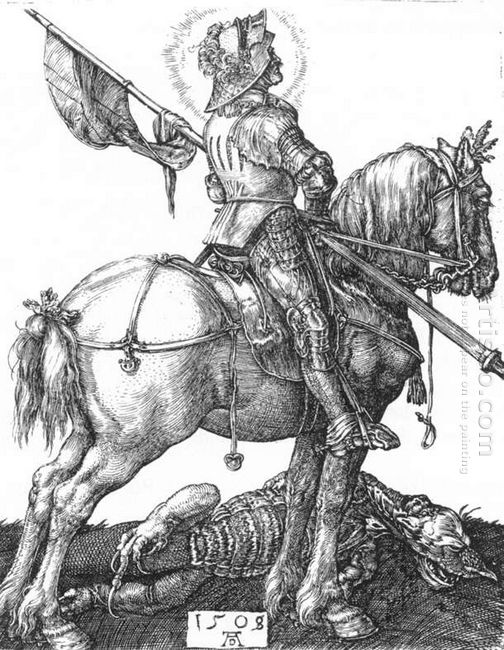 st george on horseback 1505