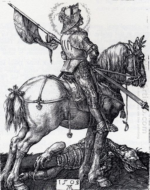 st george on horseback 1508
