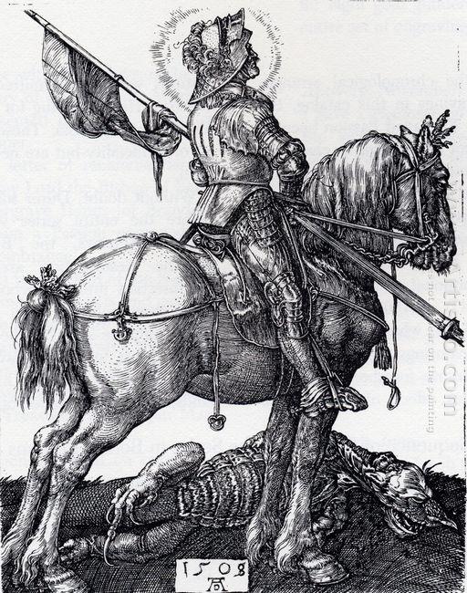 st george on horseback 1508