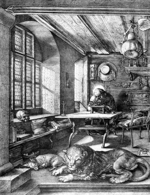 st jerome in his study 1514