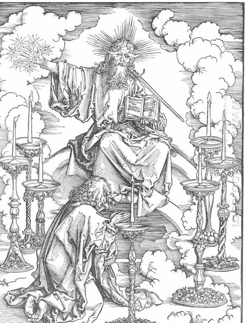 st john s vision of christ and the seven candlesticks 1498