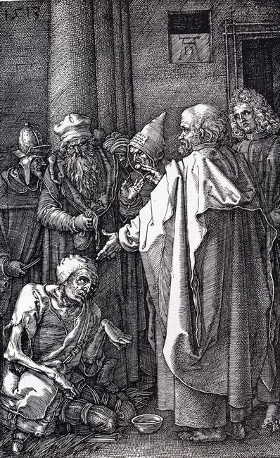 st peter and st john healing the cripple 1513