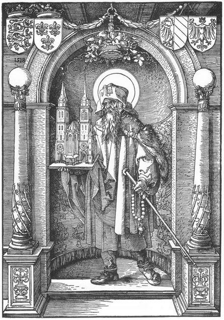 st sebald in the niche 1520