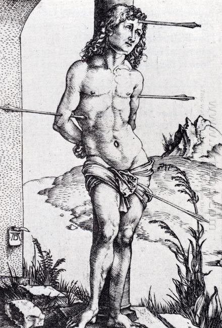 st sebastian at the column 1499
