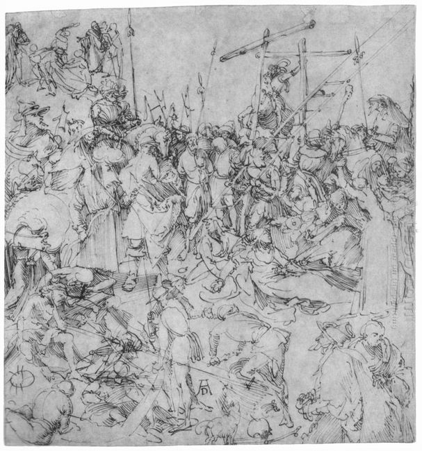 studies of a calvary