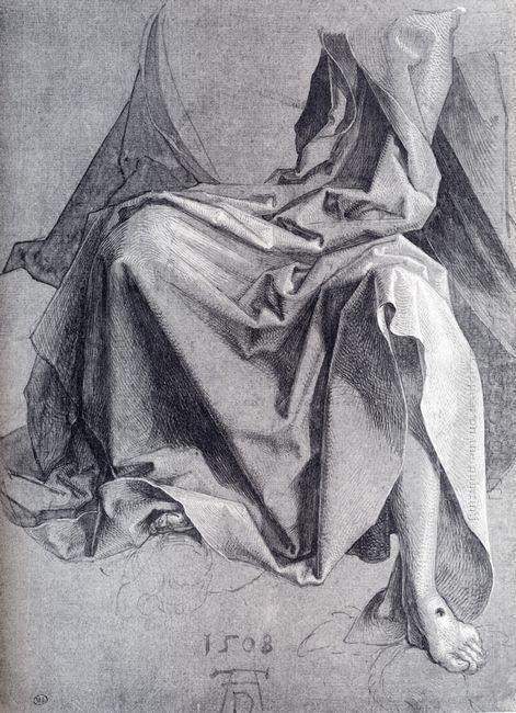 study of drapery 1508