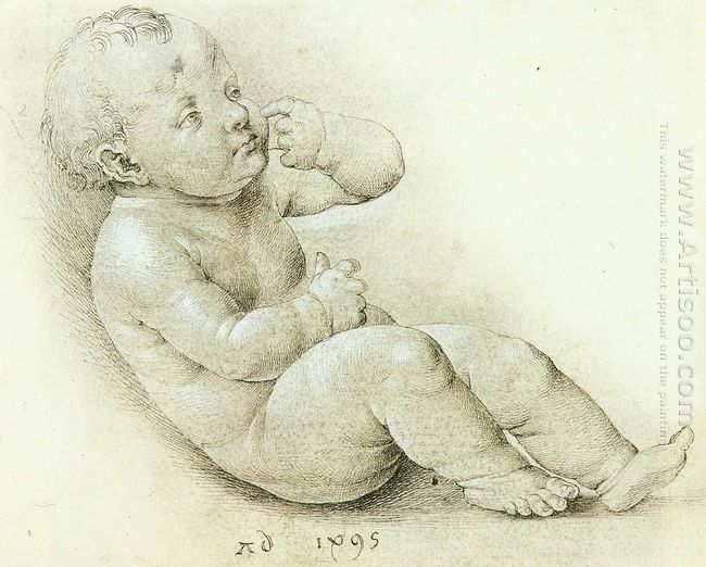 study of the christ child 1495