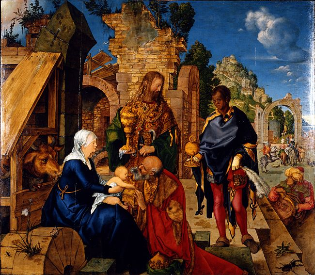 the adoration of the magi 1504