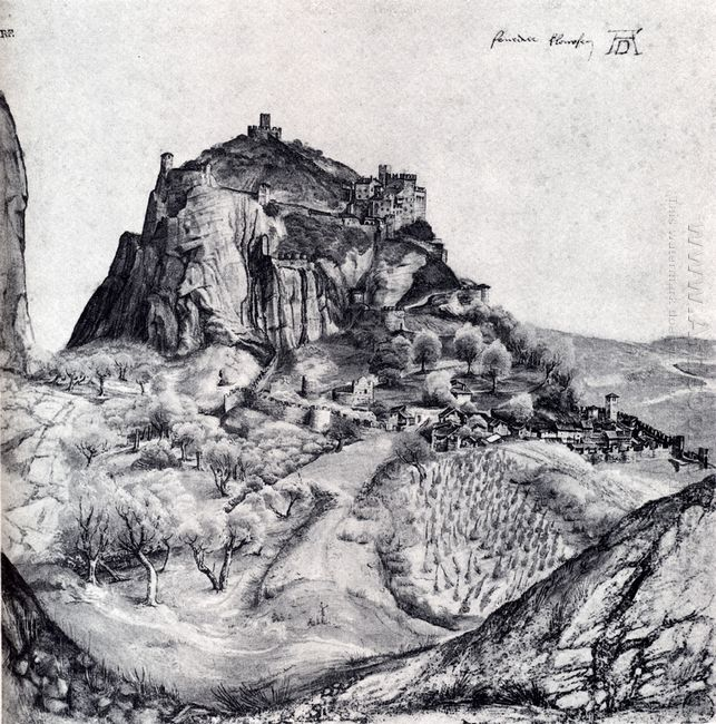 the citadel of arco in the south tyrol
