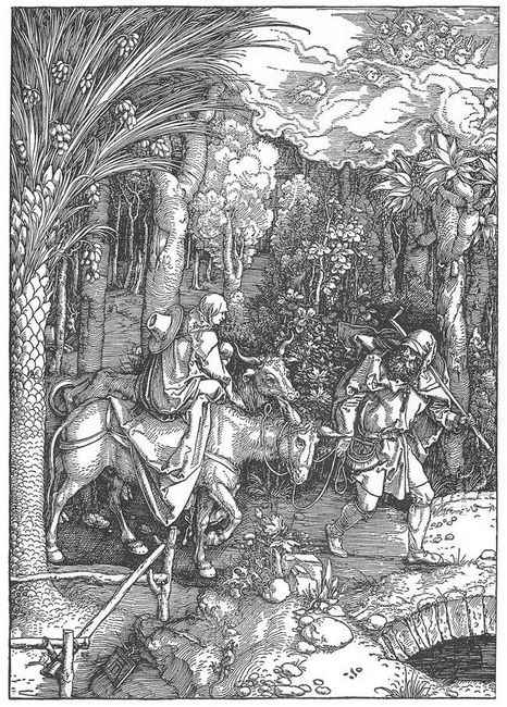 the flight into egypt 1511