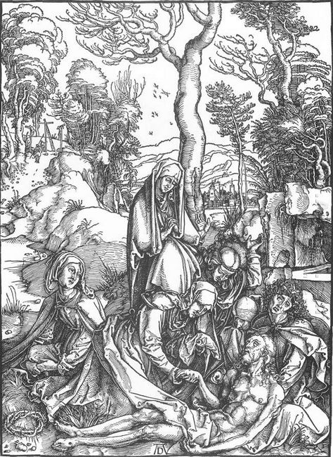 the lamentation for christ 1510