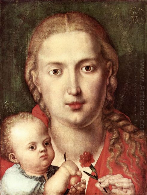 the madonna of the carnation 1516