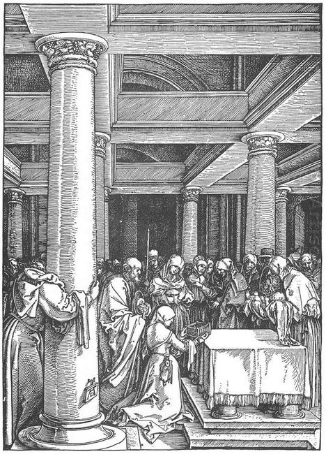 the presentation of christ in the temple 1505