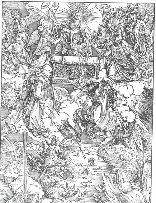 the seven trumpets are given to the angels 1498