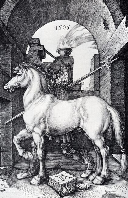 the small horse 1505
